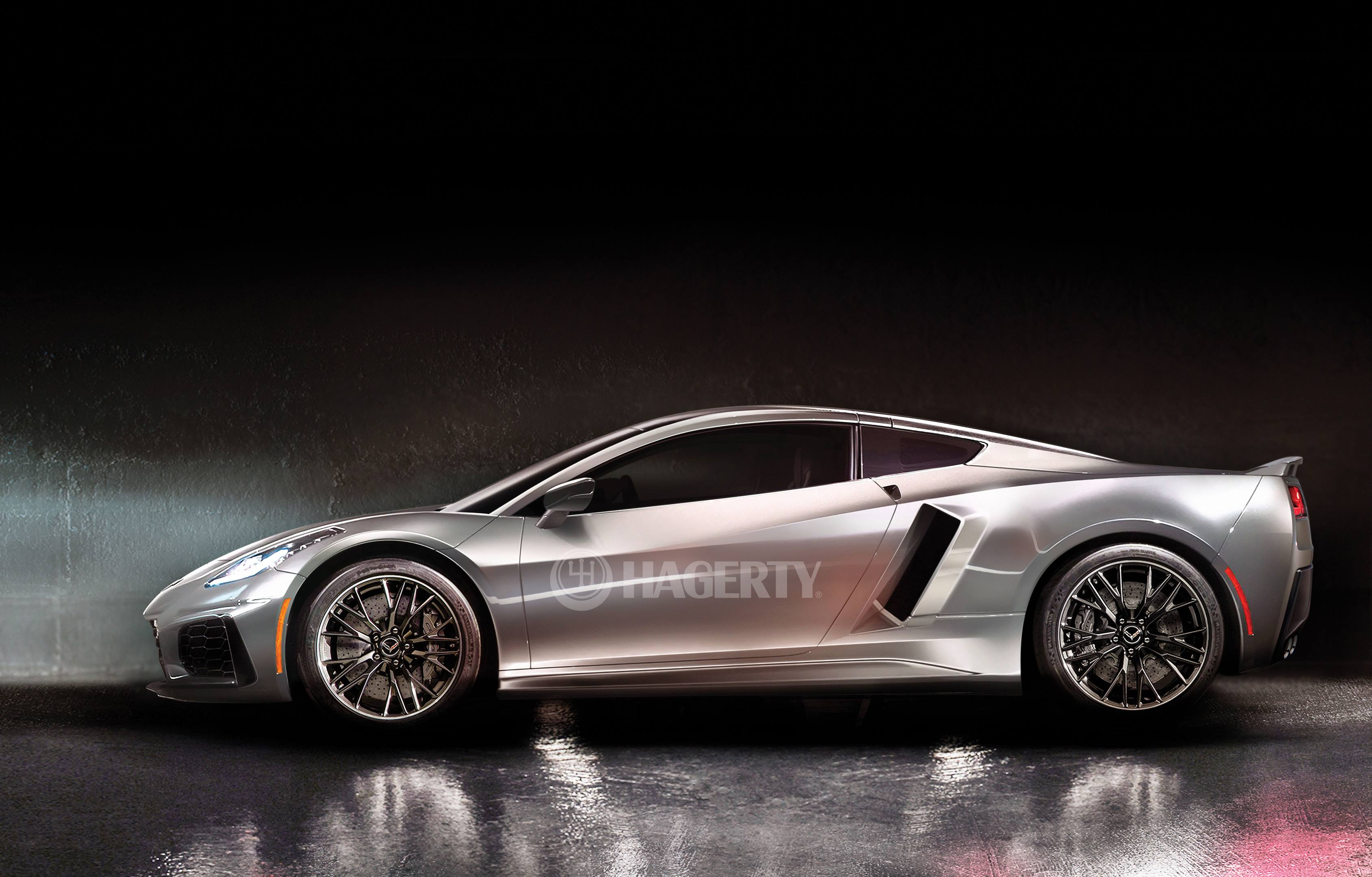 The All New mid-engine Chevrolet Corvette C8