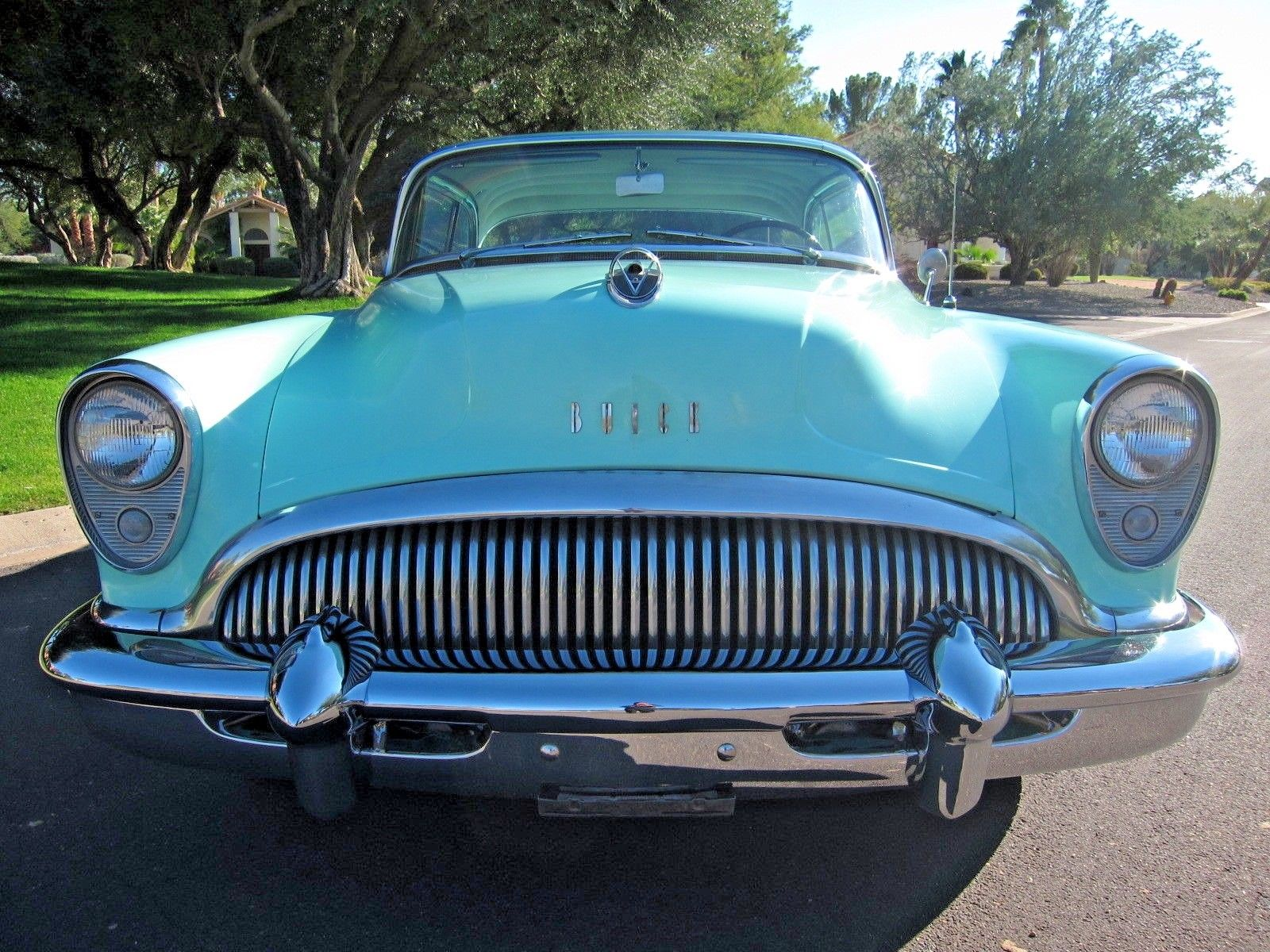 1954 Buick Super front