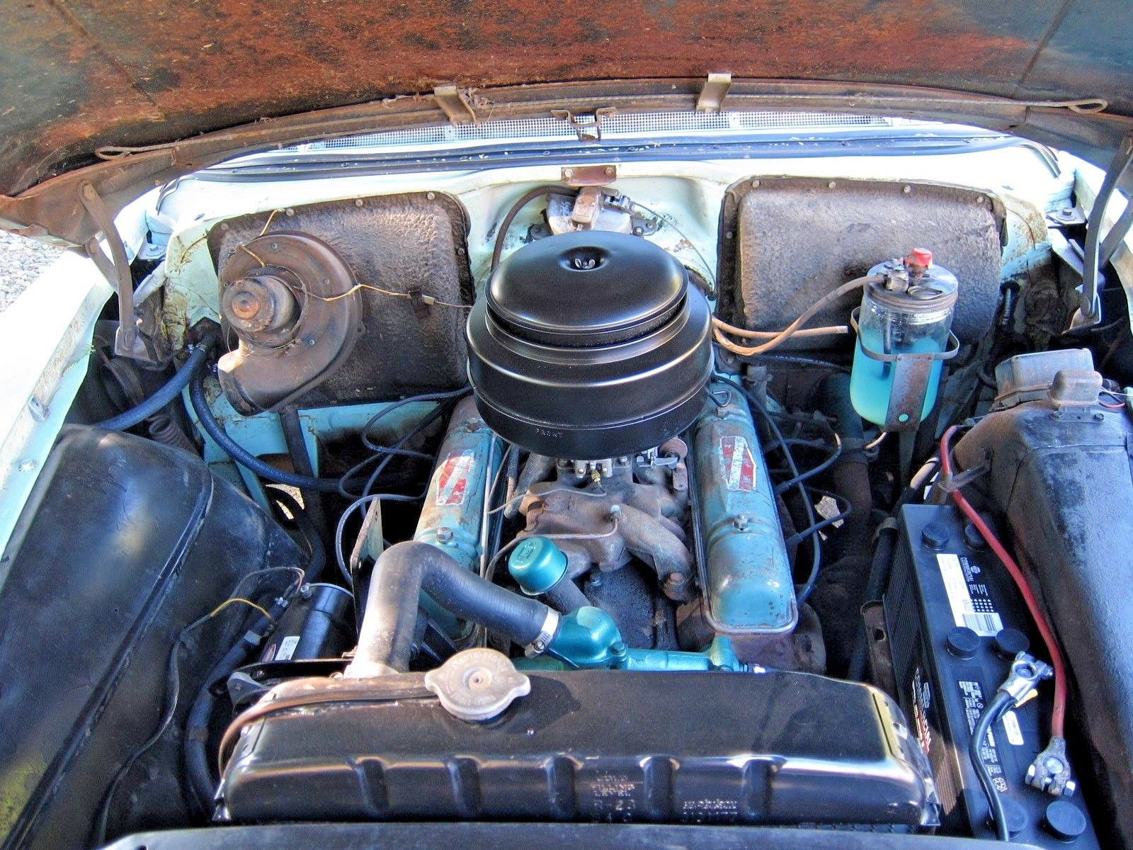 1954 Buick Super Nailhead engine