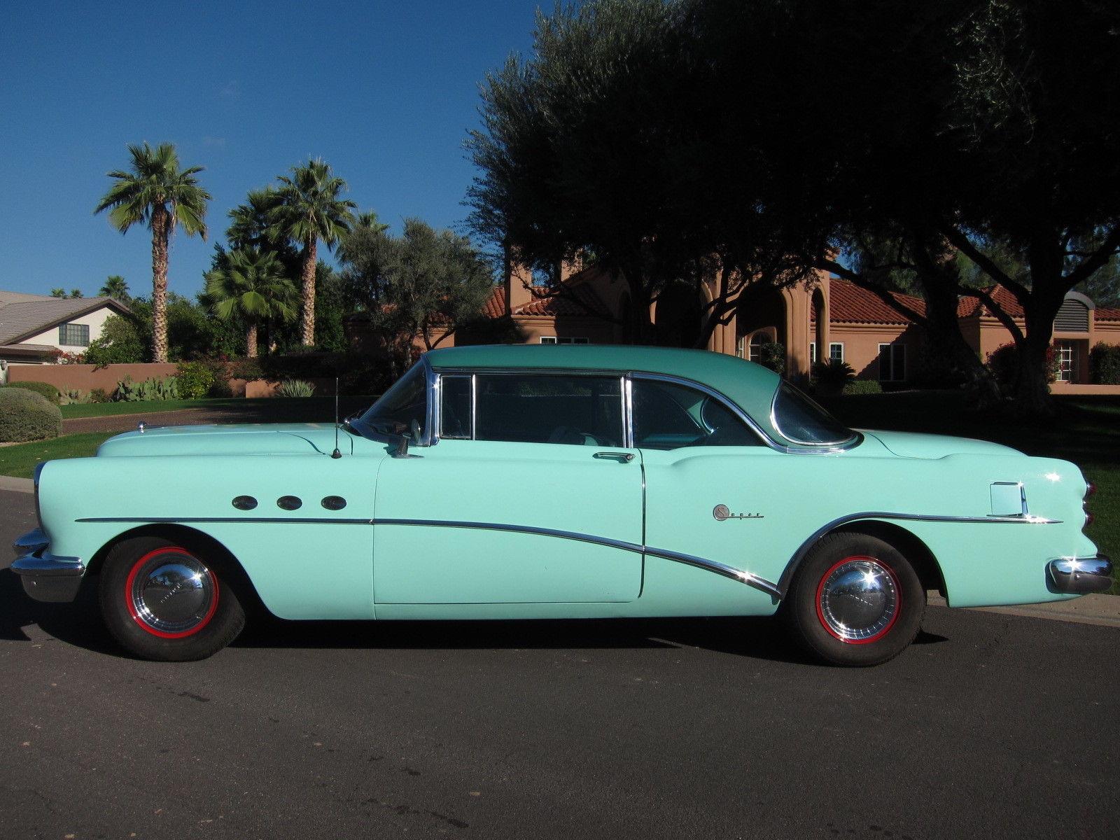 1954 Buick Super profile
