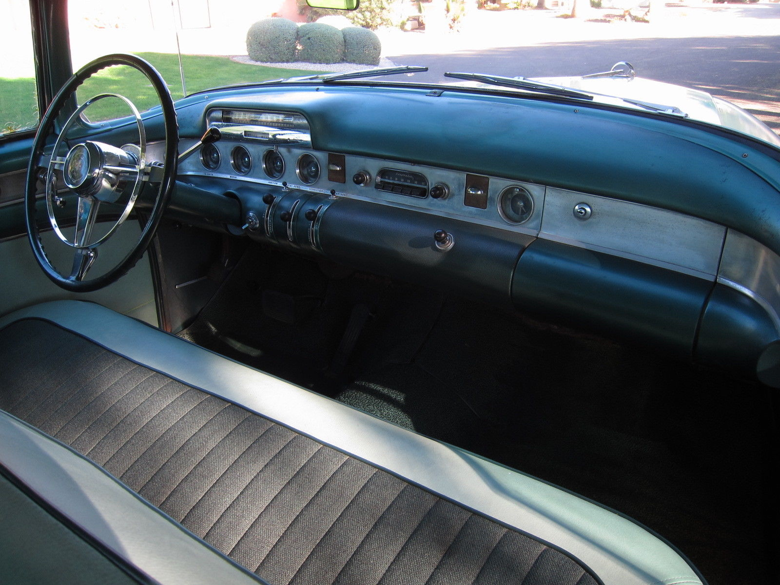 1954 Buick Super interior