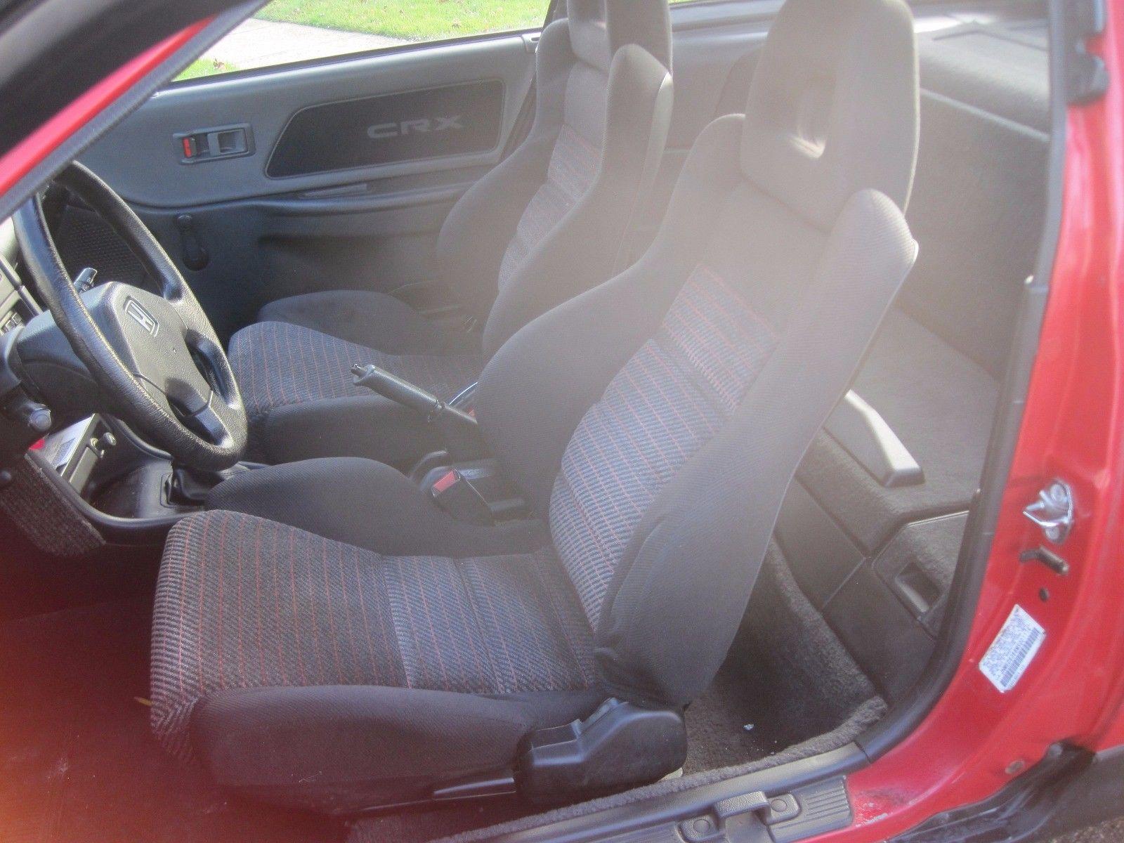 1991 Honda CRX si interior