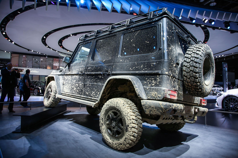 Mercedes-Benz G-Class muddy rear