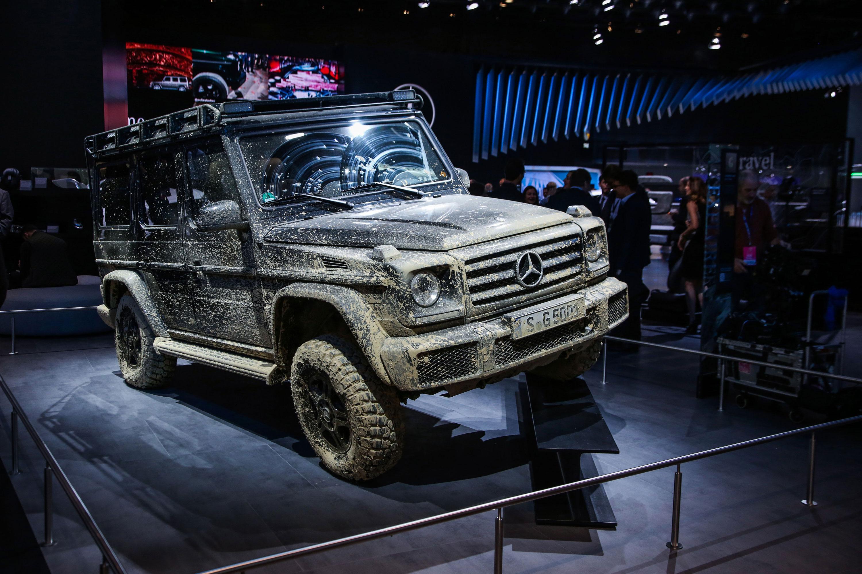 Mercedes-Benz G-Class muddy