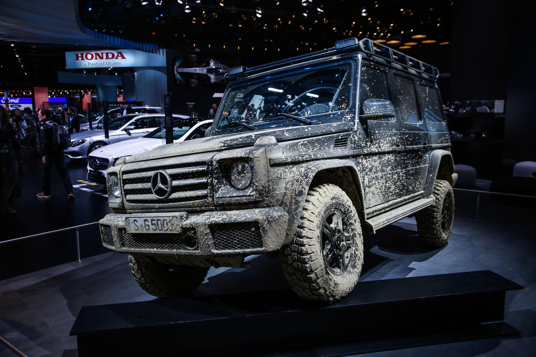 Mercedes-Benz G-Class mud