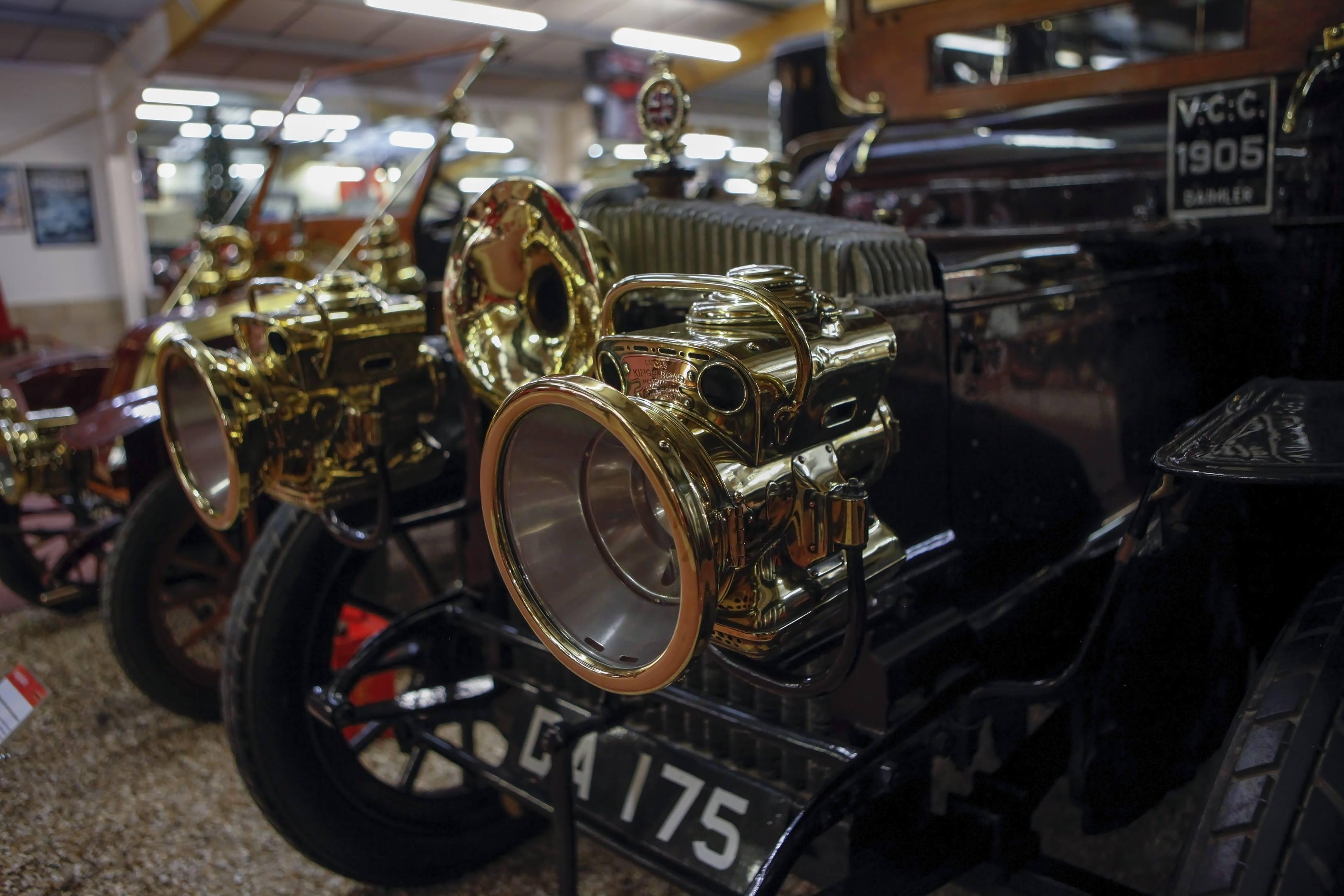 1905 daimlet limo haynes museum