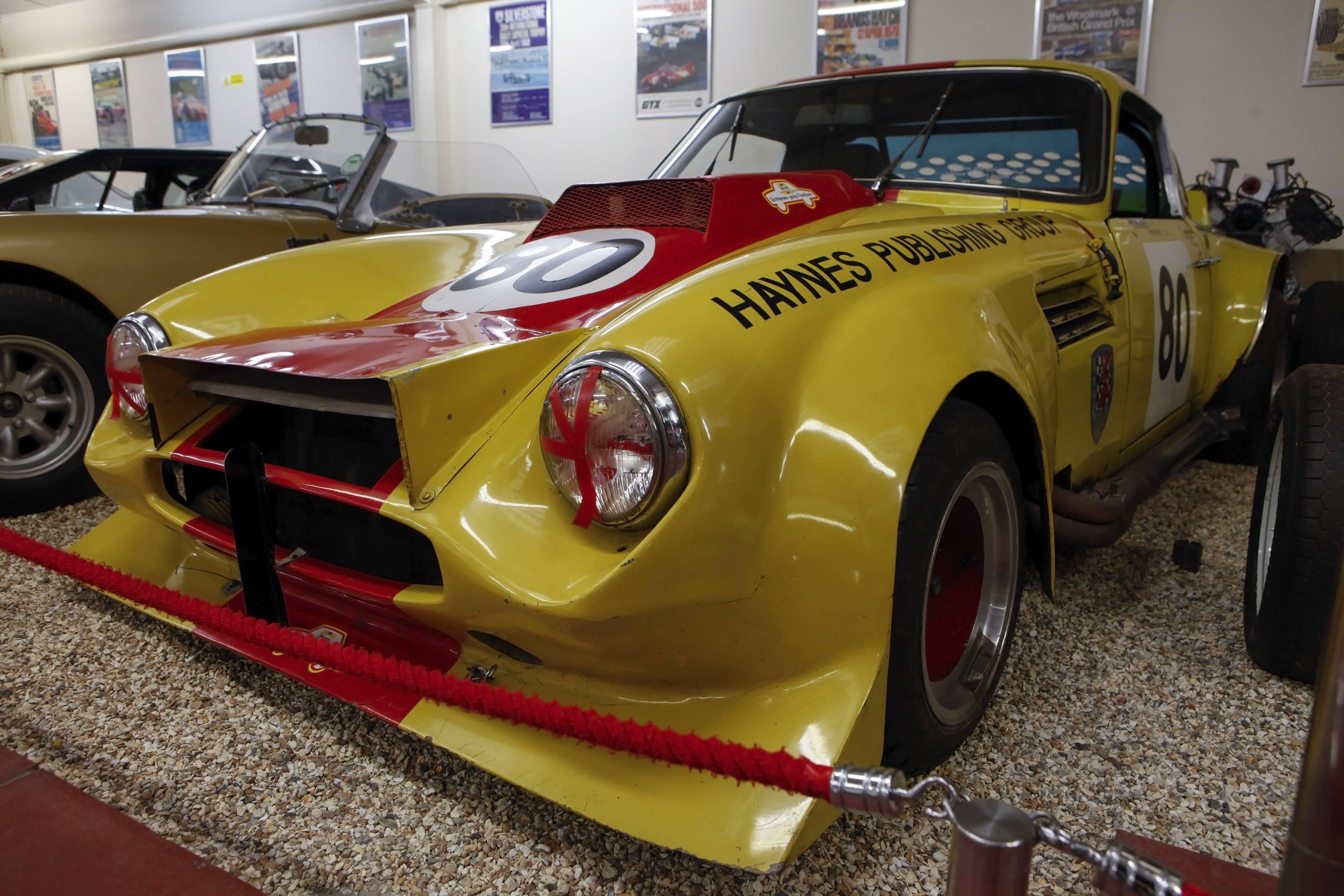 Haynes museum tvr tuscan spring car