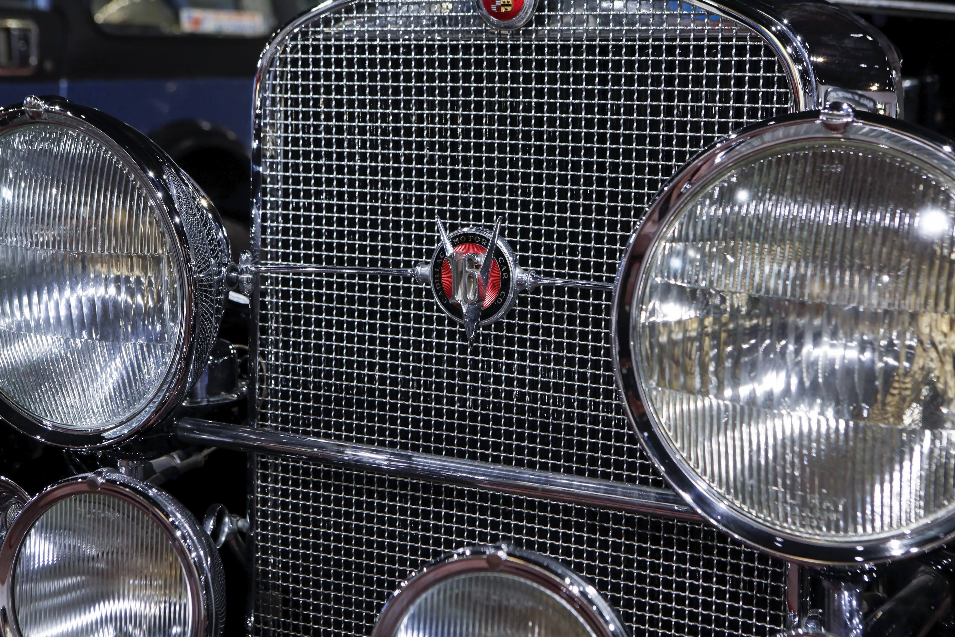 Cadillac V16 at the Haynes International Motor Museum