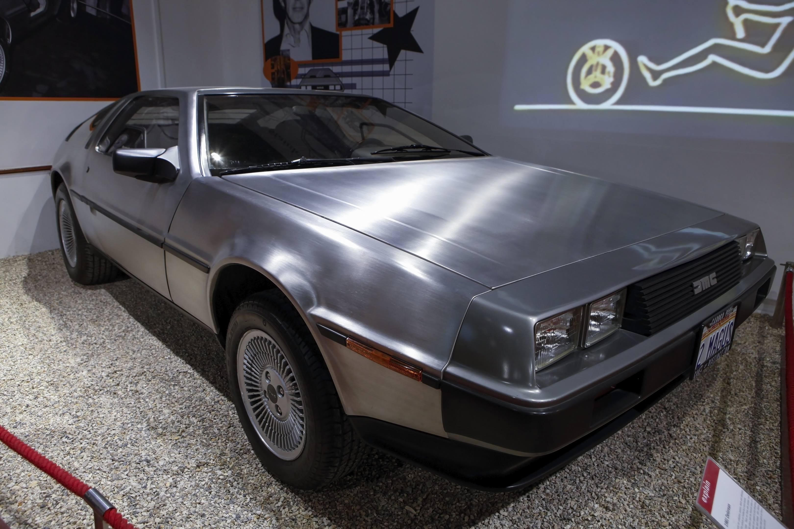 DeLorean DMC-12 at the Haynes International Motor Museum