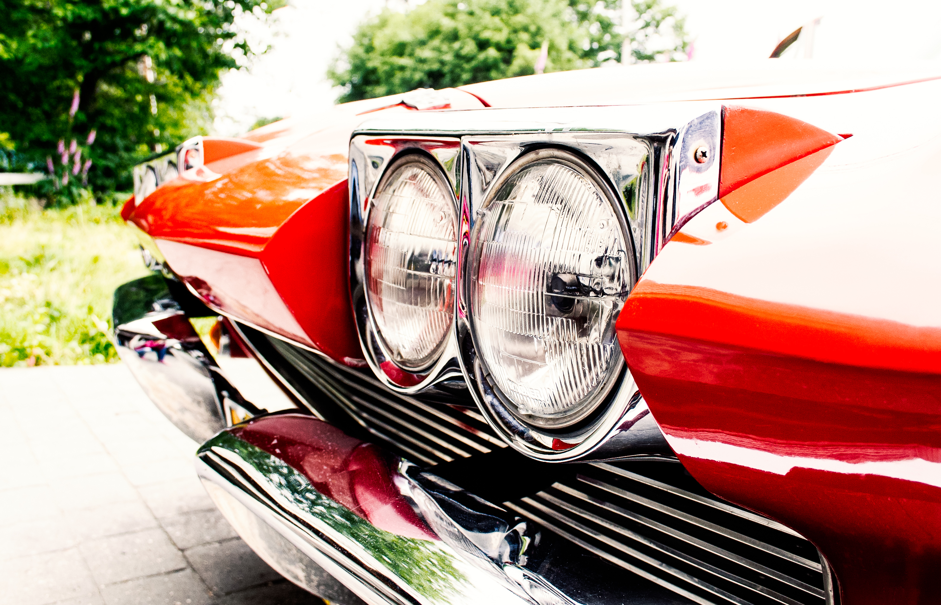 1964 Chevrolet Corvette headlights