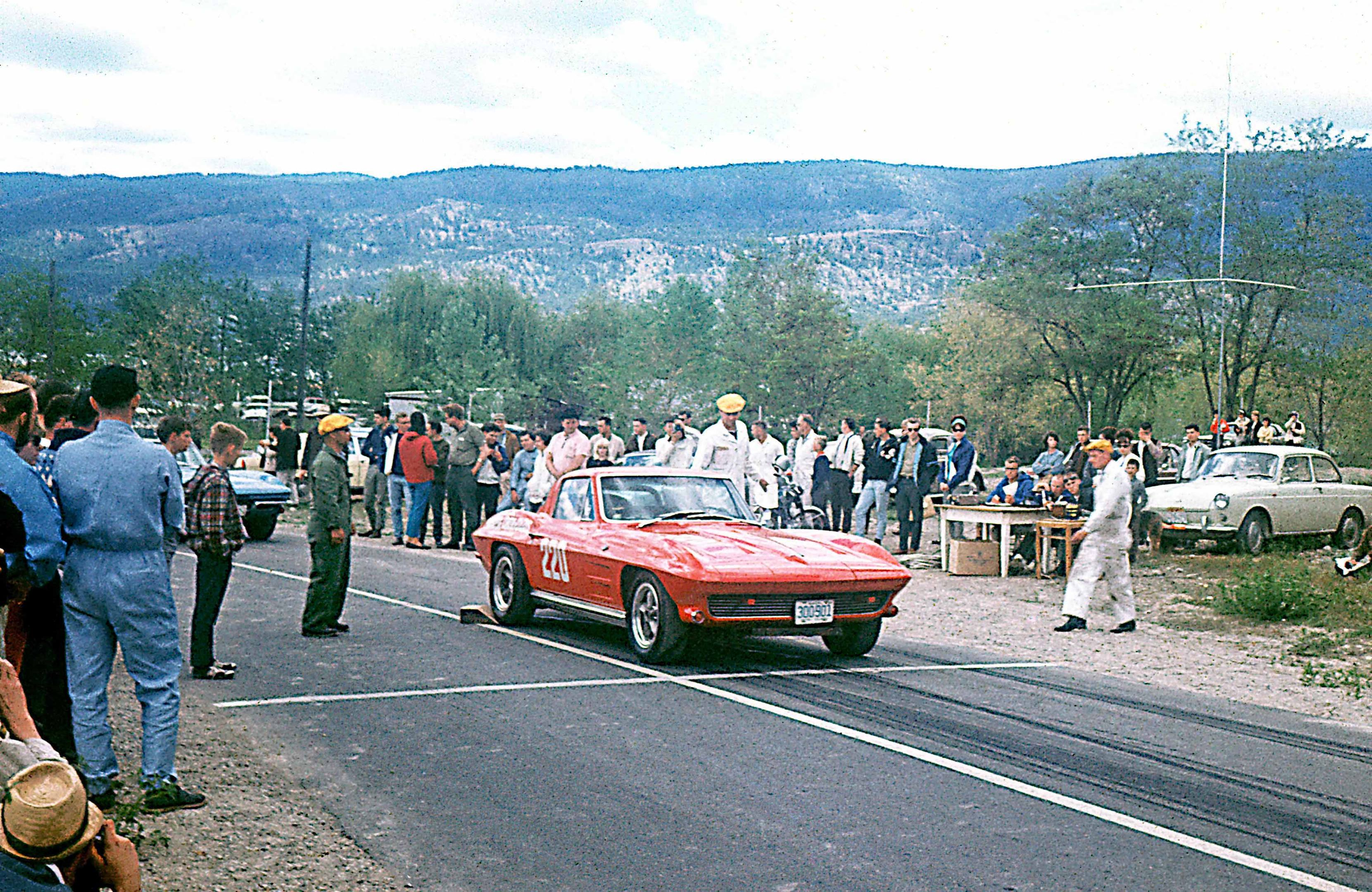 1966 Okanagan Hillclimb - Corvette Stingray