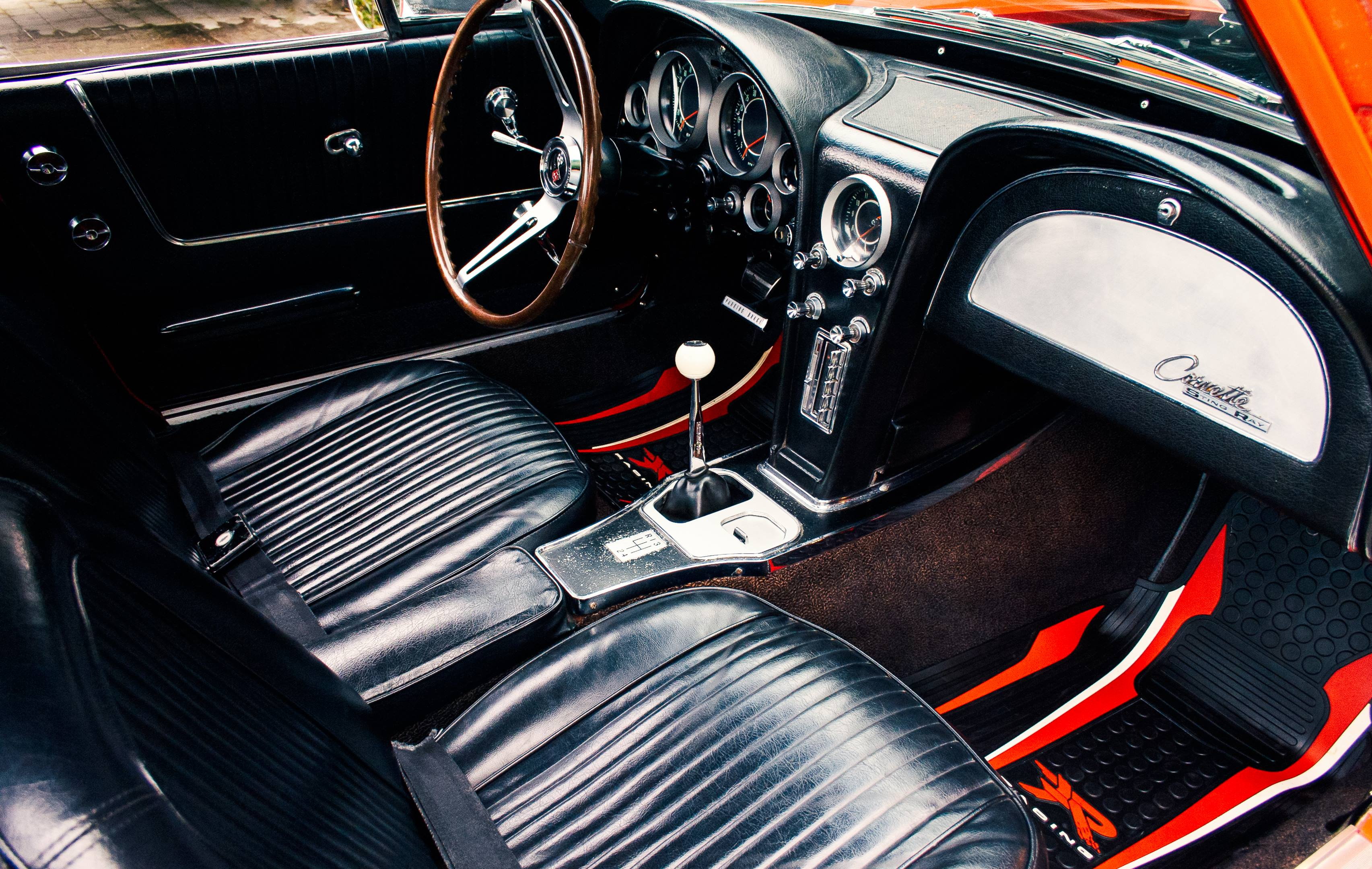 1964 Chevrolet Corvette interior