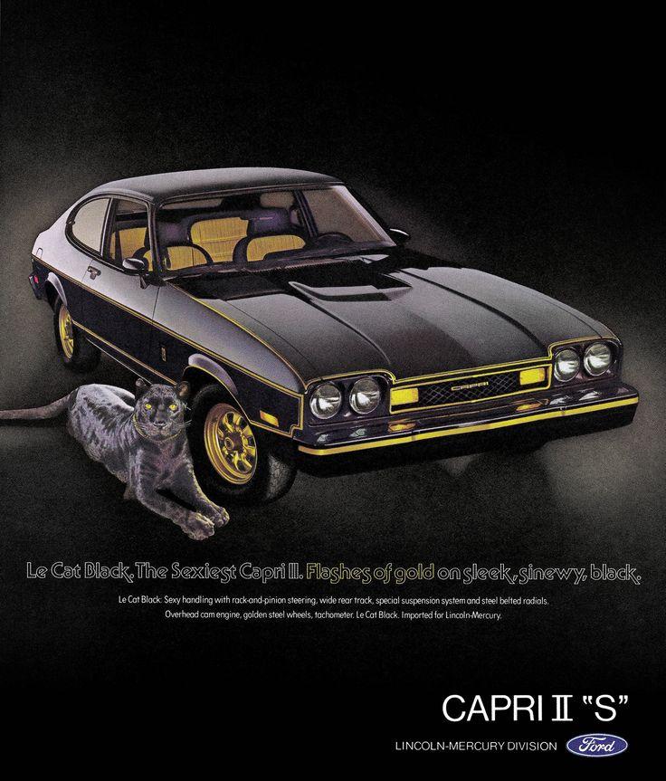 Mercury Capri II ad