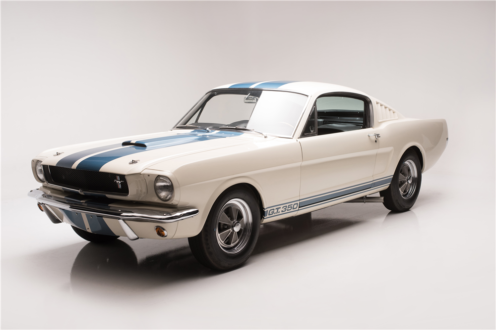 1965 Shelby GT350 front 3/4
