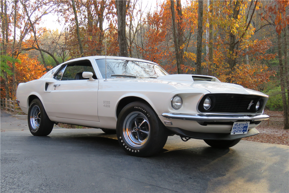 1969 Ford Mustang Boss 429 at Barrett-Jackson