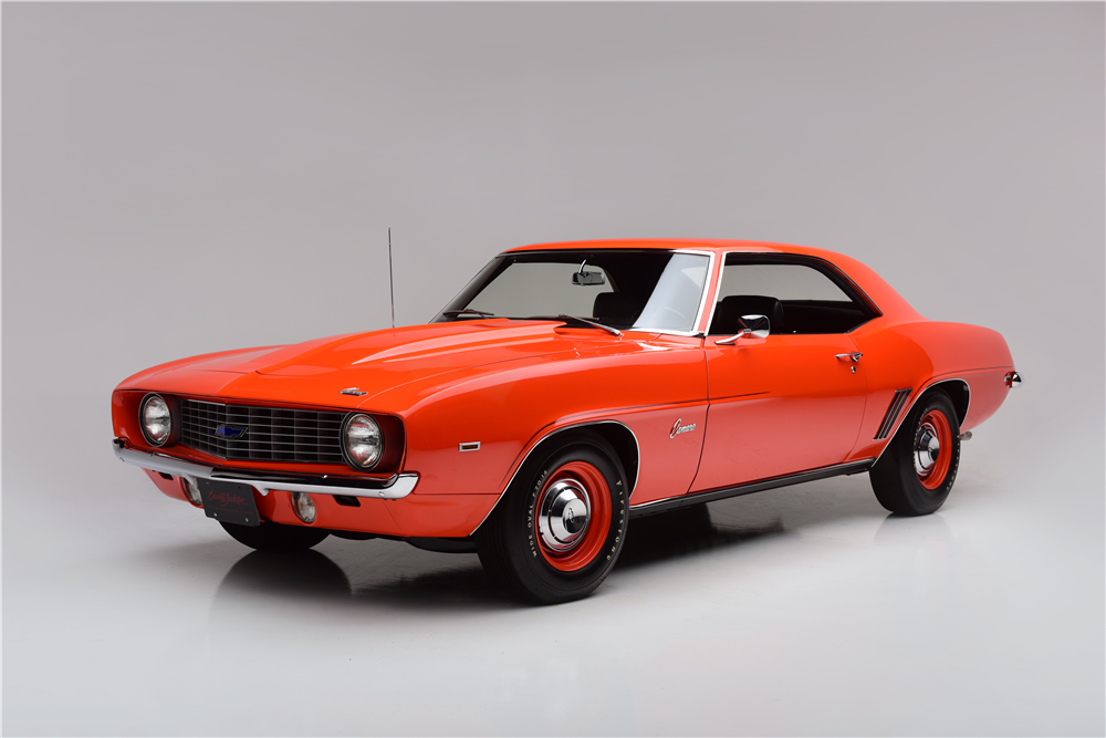 1969 Chevrolet Camaro ZL1 at Barrett-Jackson
