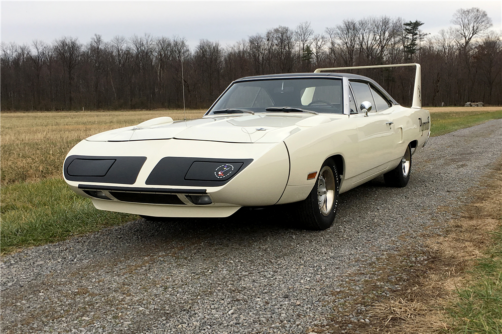 1970 Plymouth Superbird front 3/4