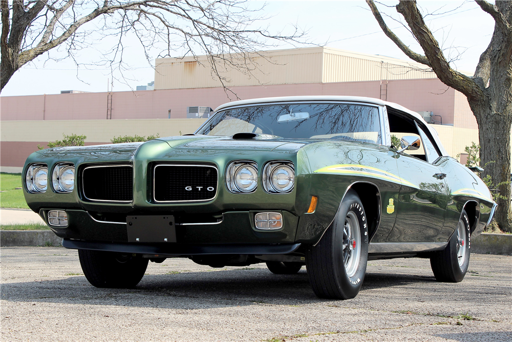 1970 Pontiac GTO Judge at Barrett-Jackson