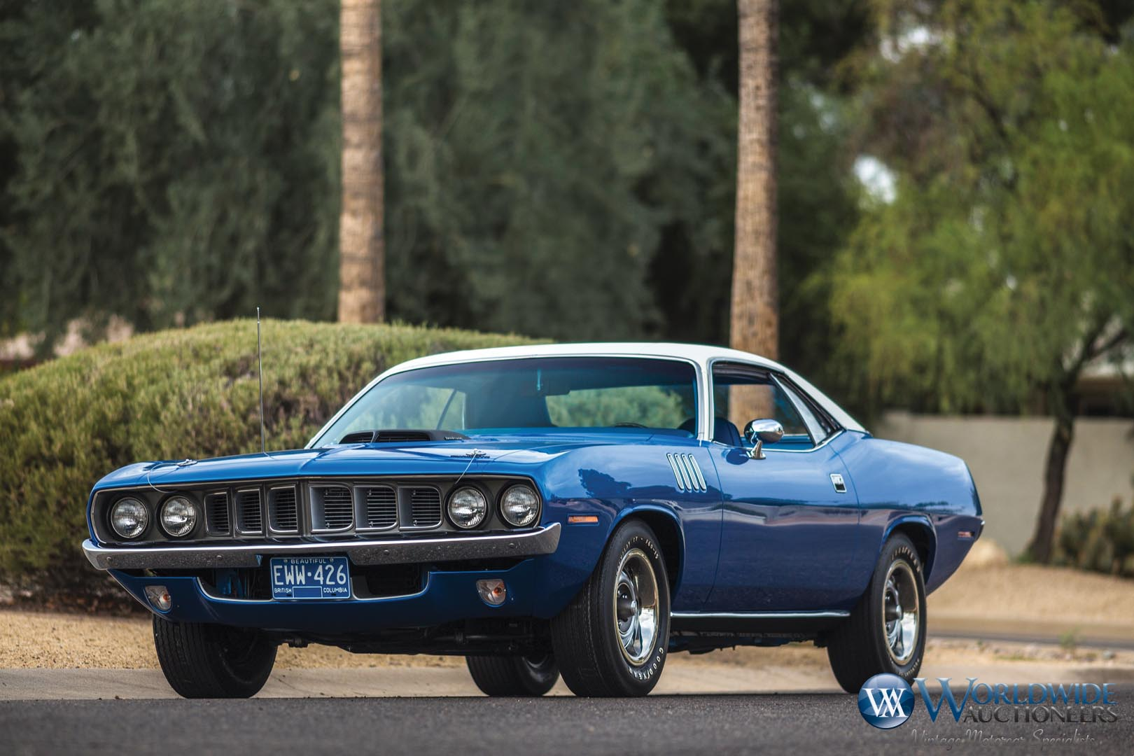 1971 Plymouth Hemi 'Cuda at Worldwide