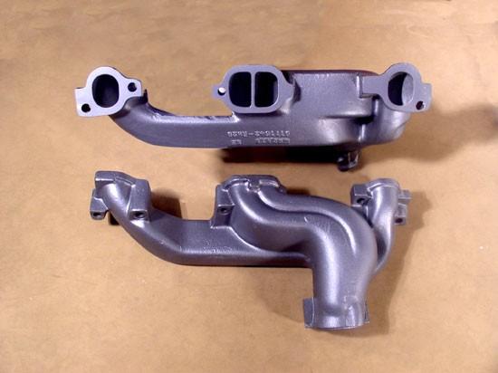 Pontiac D port Ram Air Exhaust Manifolds