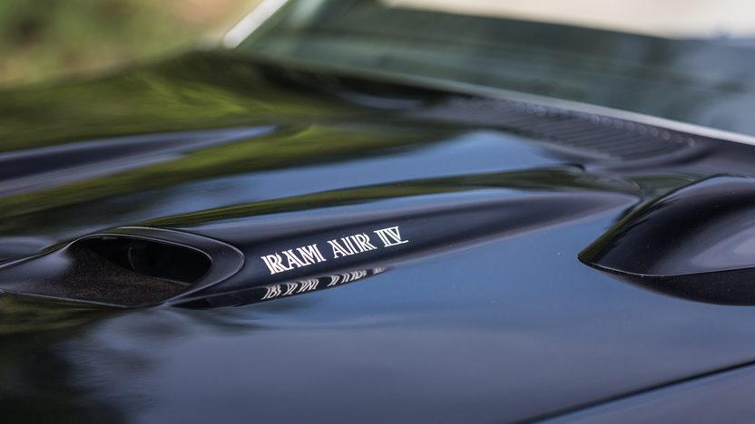 1970 Pontiac GTO hood scoop with Ram Air IV