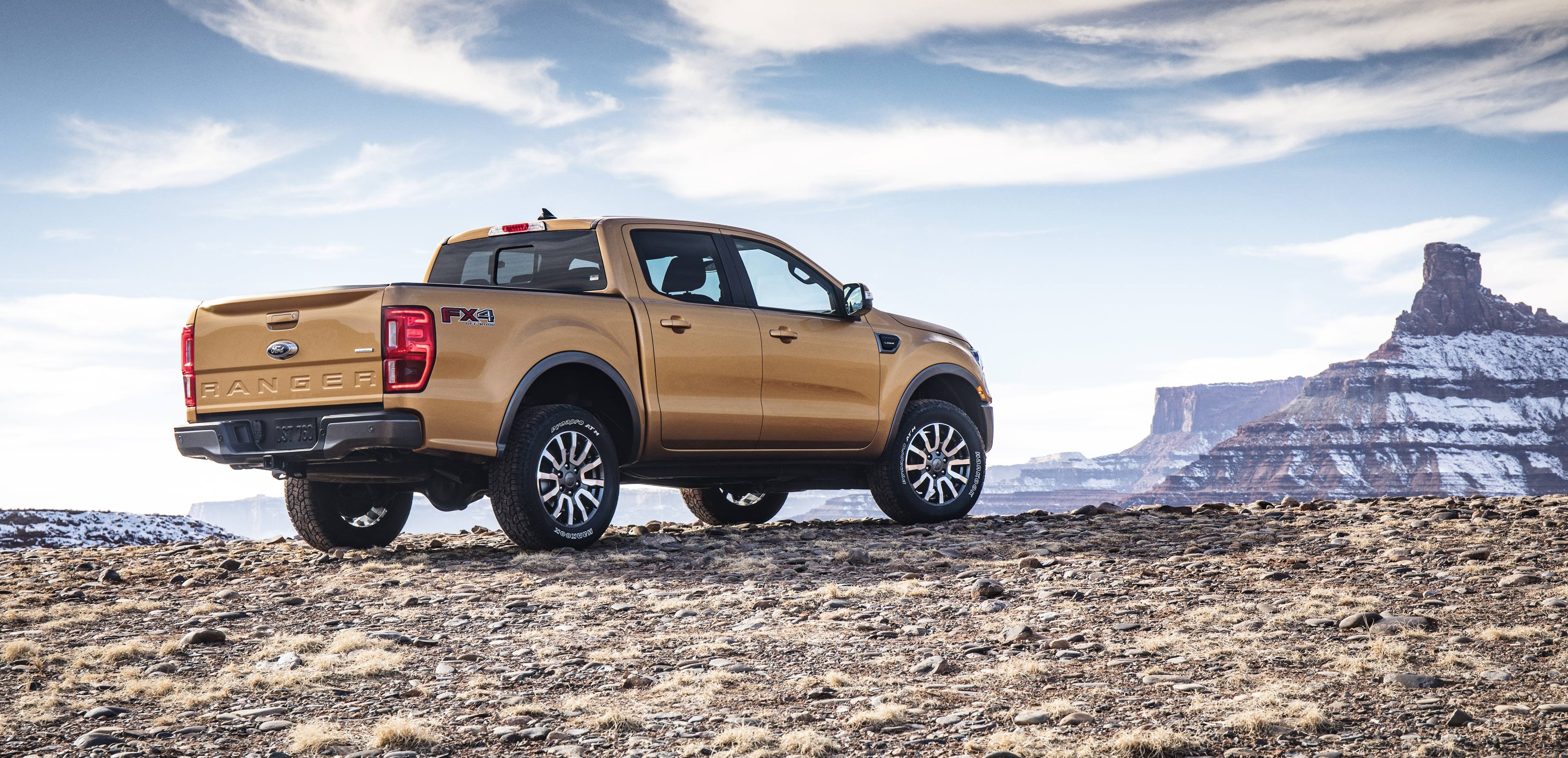 2019 Ford Ranger rear 3/4