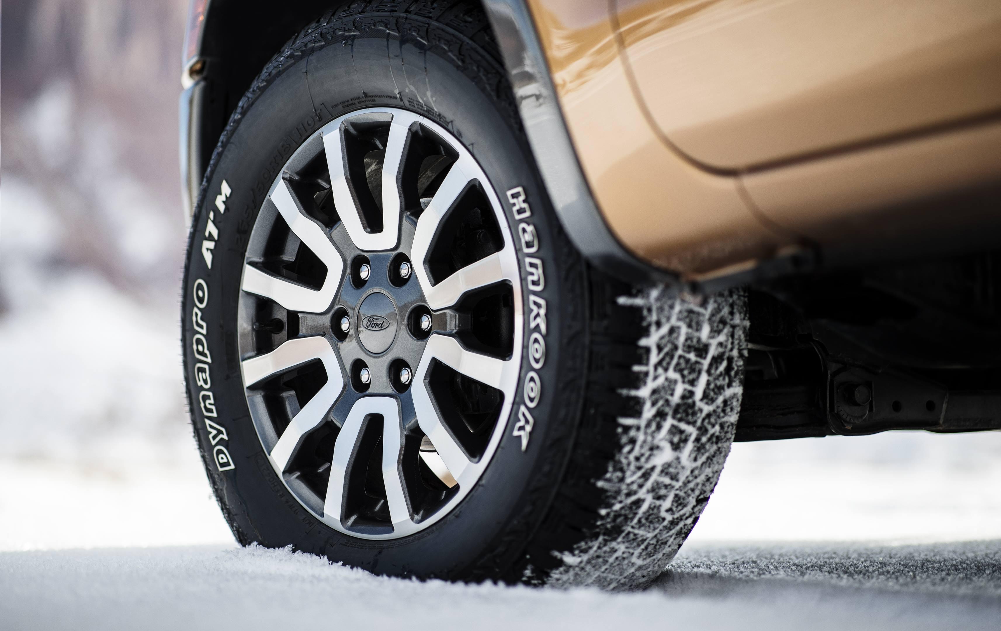 2019 Ford Ranger wheel detail