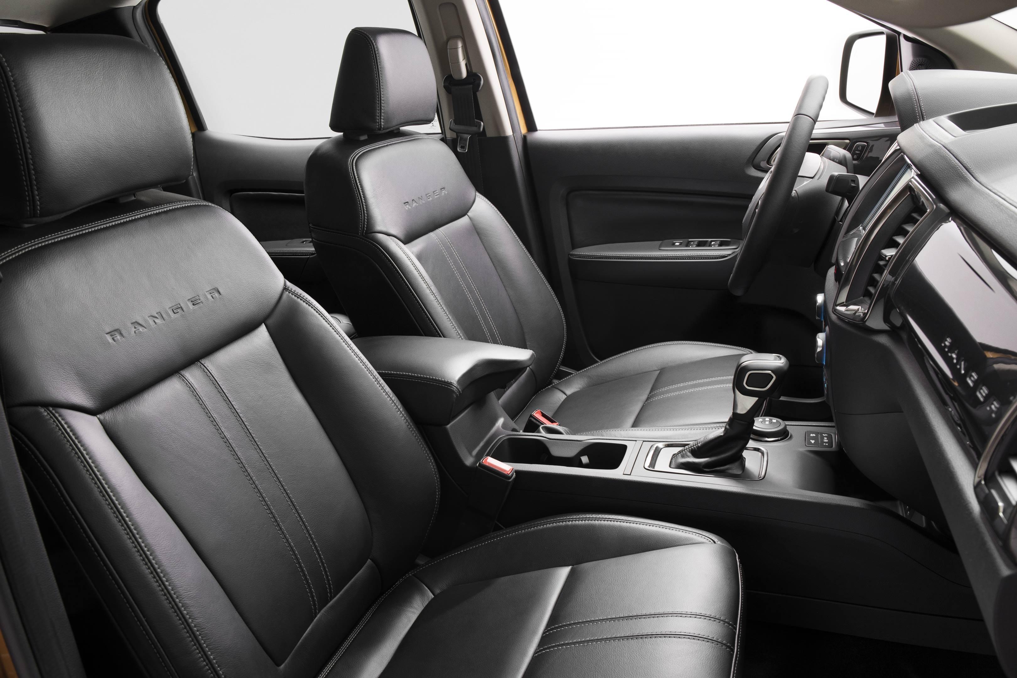 2019 Ford Ranger seat detail
