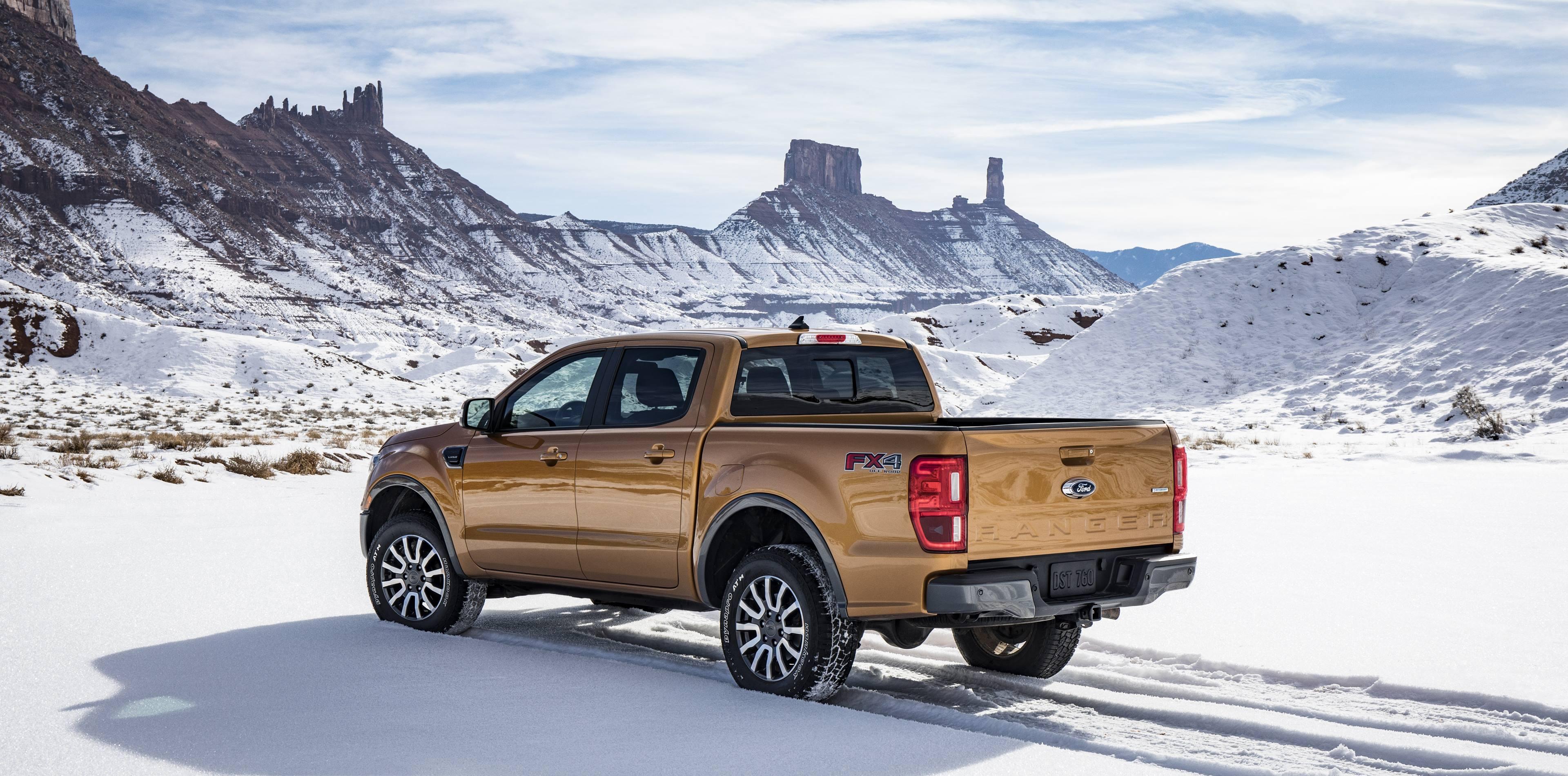 2019 Ford Ranger off roading
