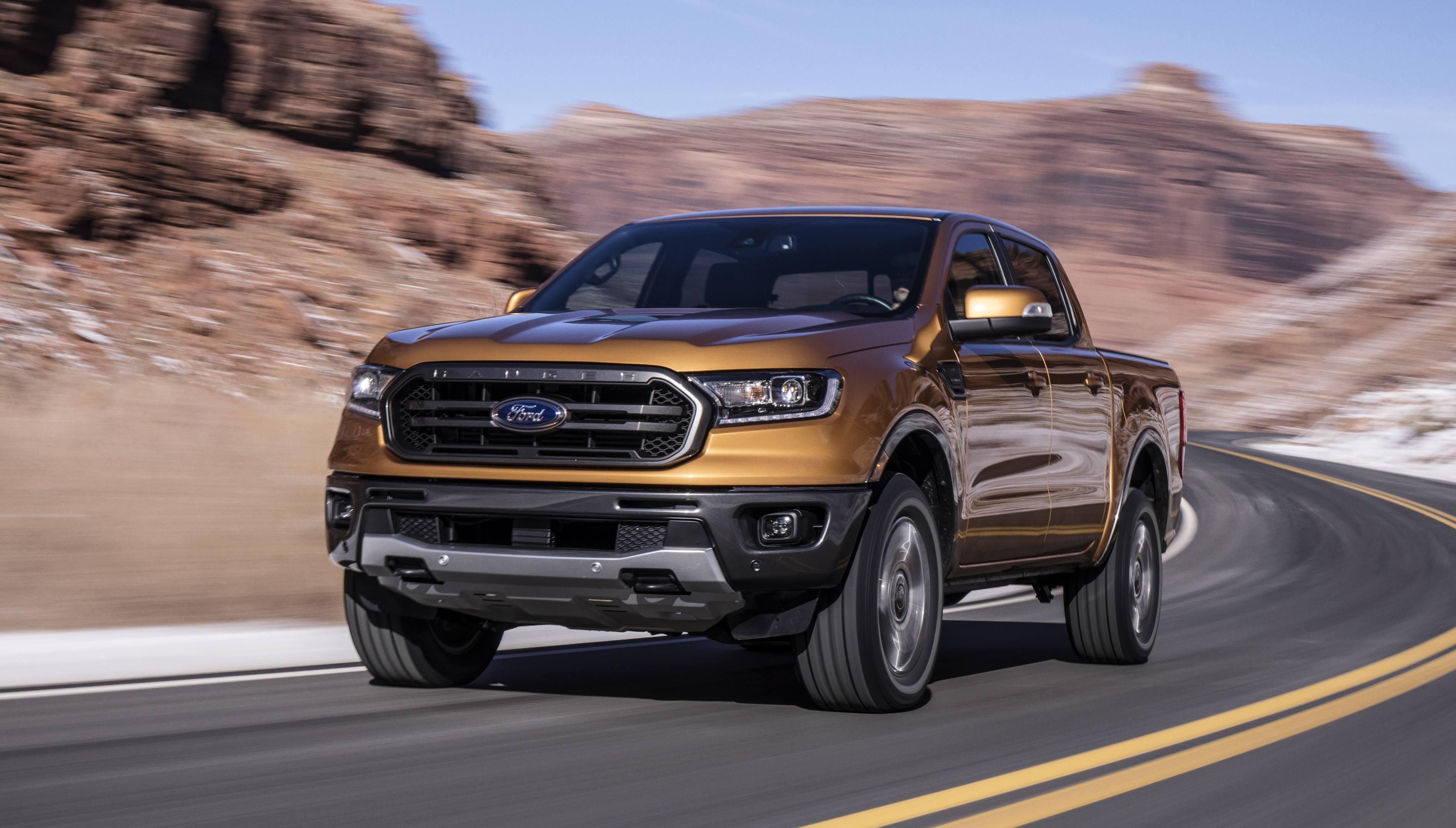 2019 Ford Ranger pickup truck