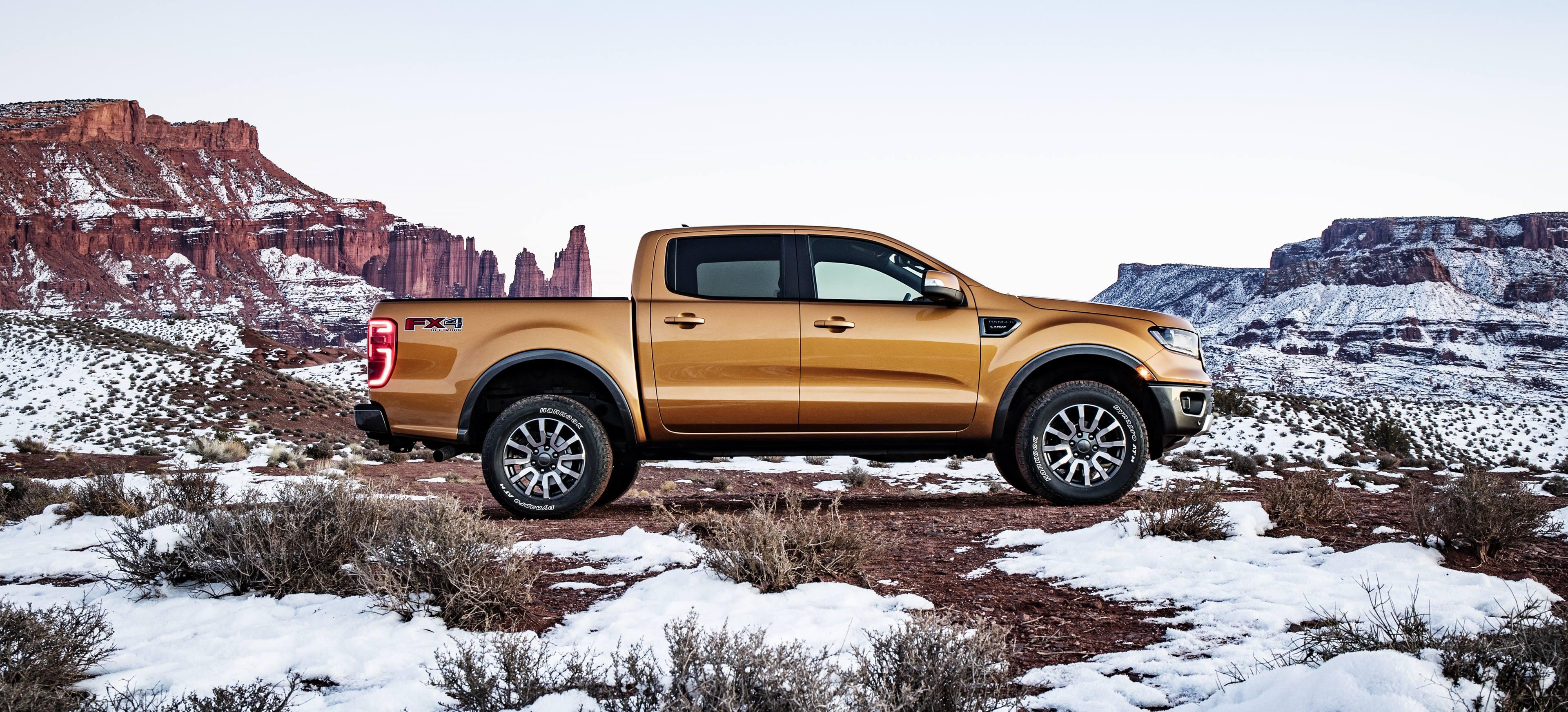 2019 Ford Ranger profile