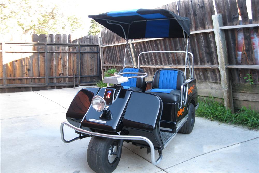 Harley Davidson golf cart scottsdale auction