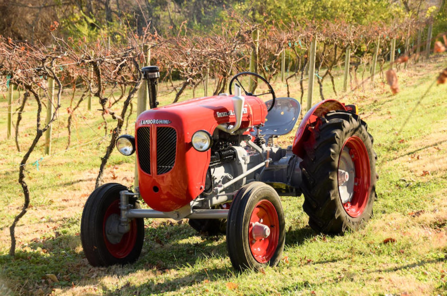 Lamborghini tractor bonhams