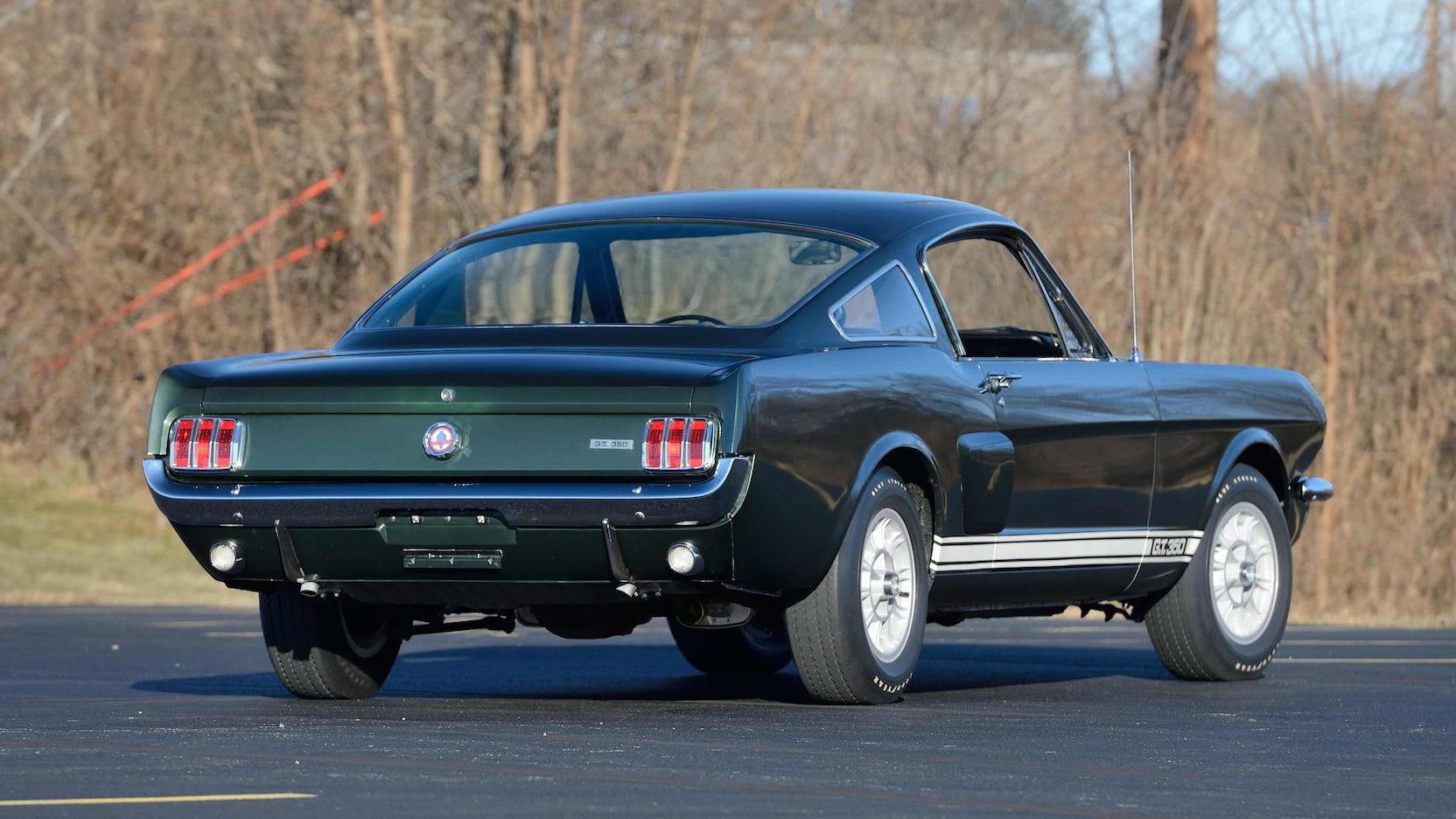 1966 Shelby GT350 rear 3/4
