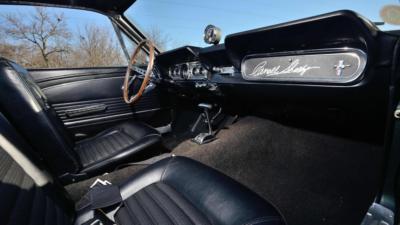 1966 Shelby GT350 Shelby glove box signature