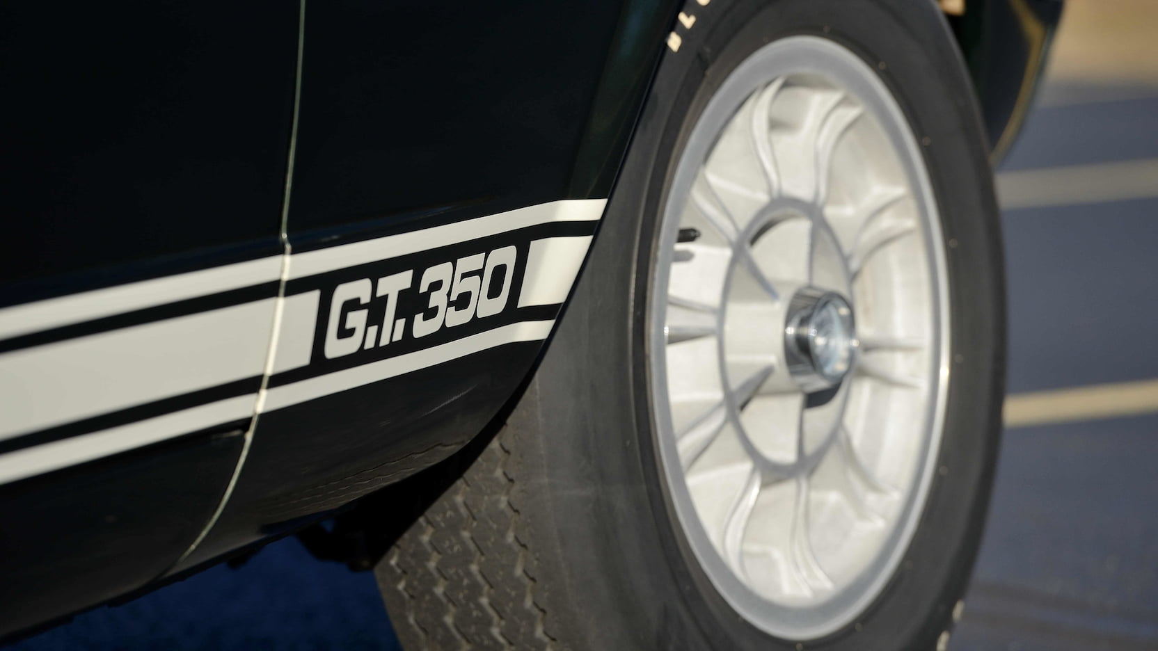 1966 Shelby GT350 wheel detail