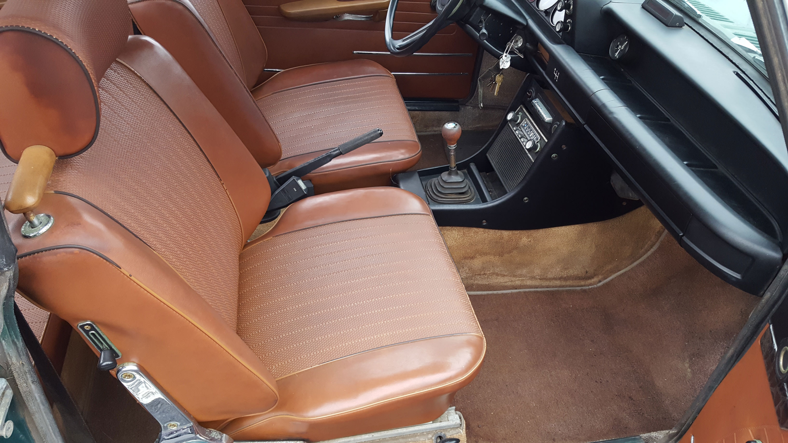 Vintage seats are often beautiful, but they are a frequent culprit of rattles and clunks.