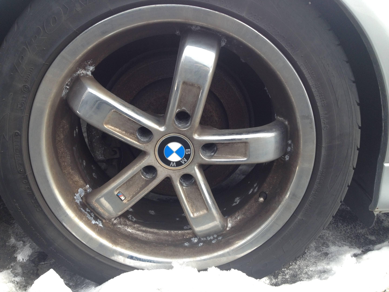 tires on Rob Siegel's 2003 BMW 530i
