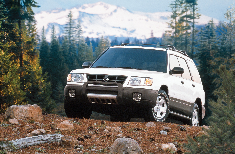 1998 Subaru Forester off-road