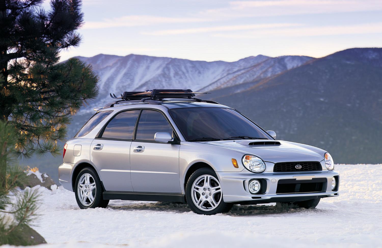 2002 Subaru WRX Wagon snow