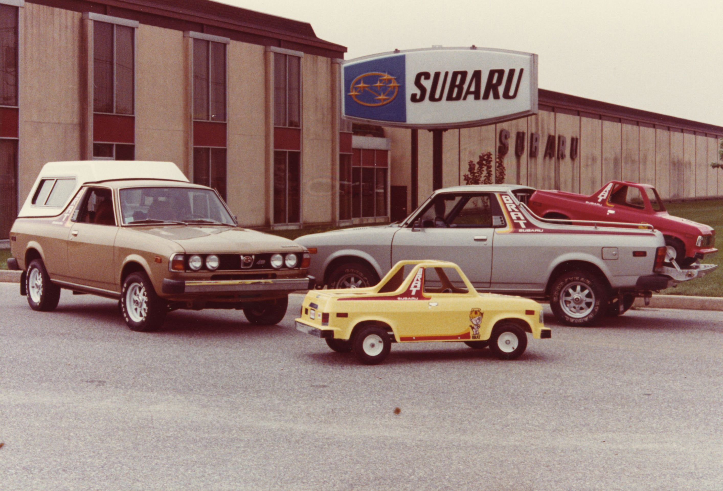 Subaru BRAT lineup