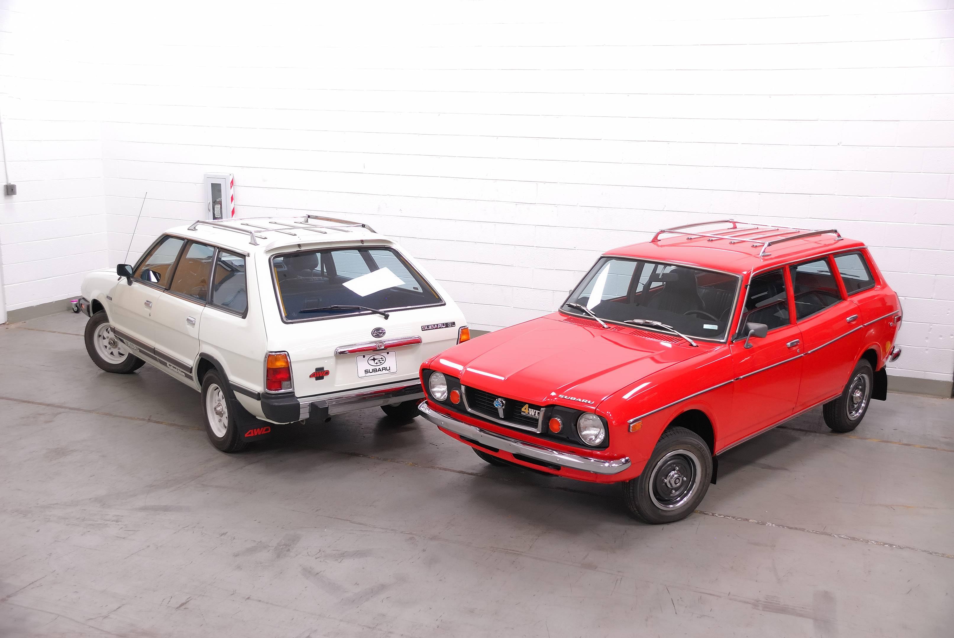 1976 and 1980 Subaru DL GL Wagon