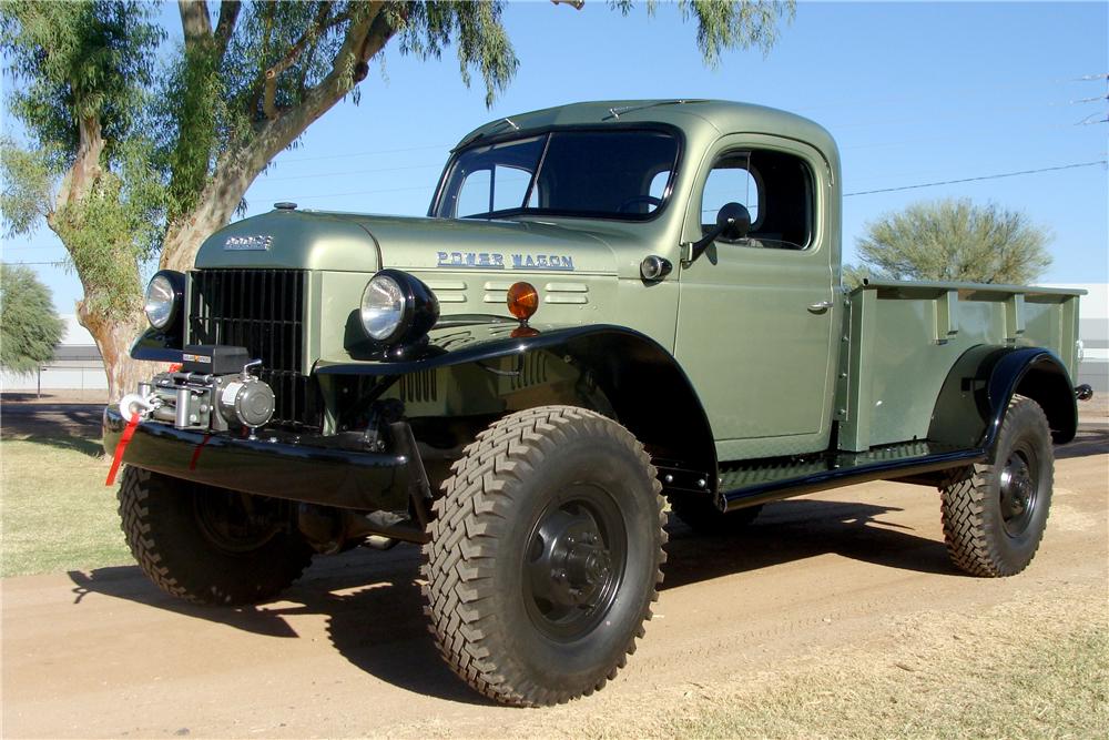 1951 Dodge B-3-PW Power Wagon