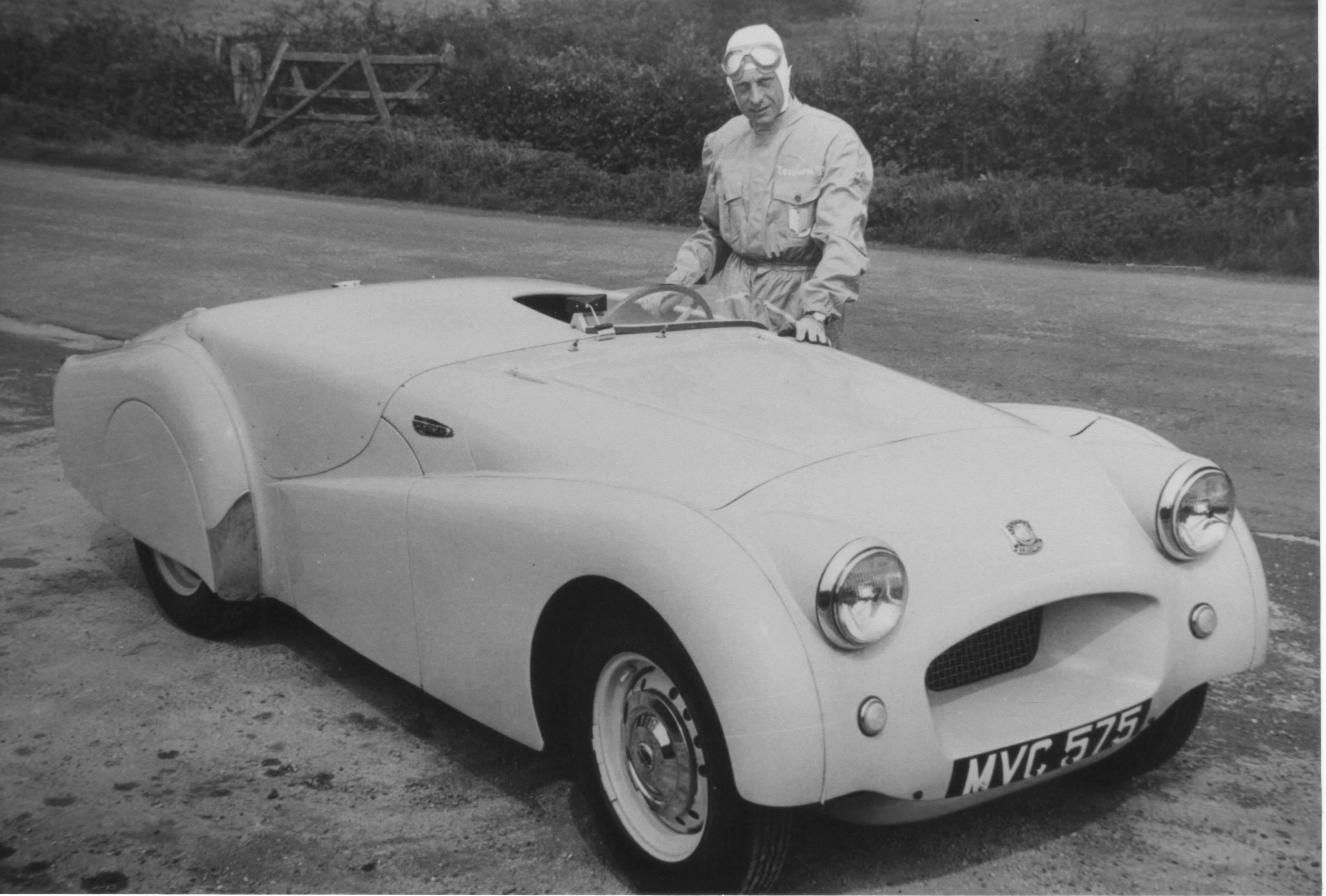 classic photo of the Triumph TR2