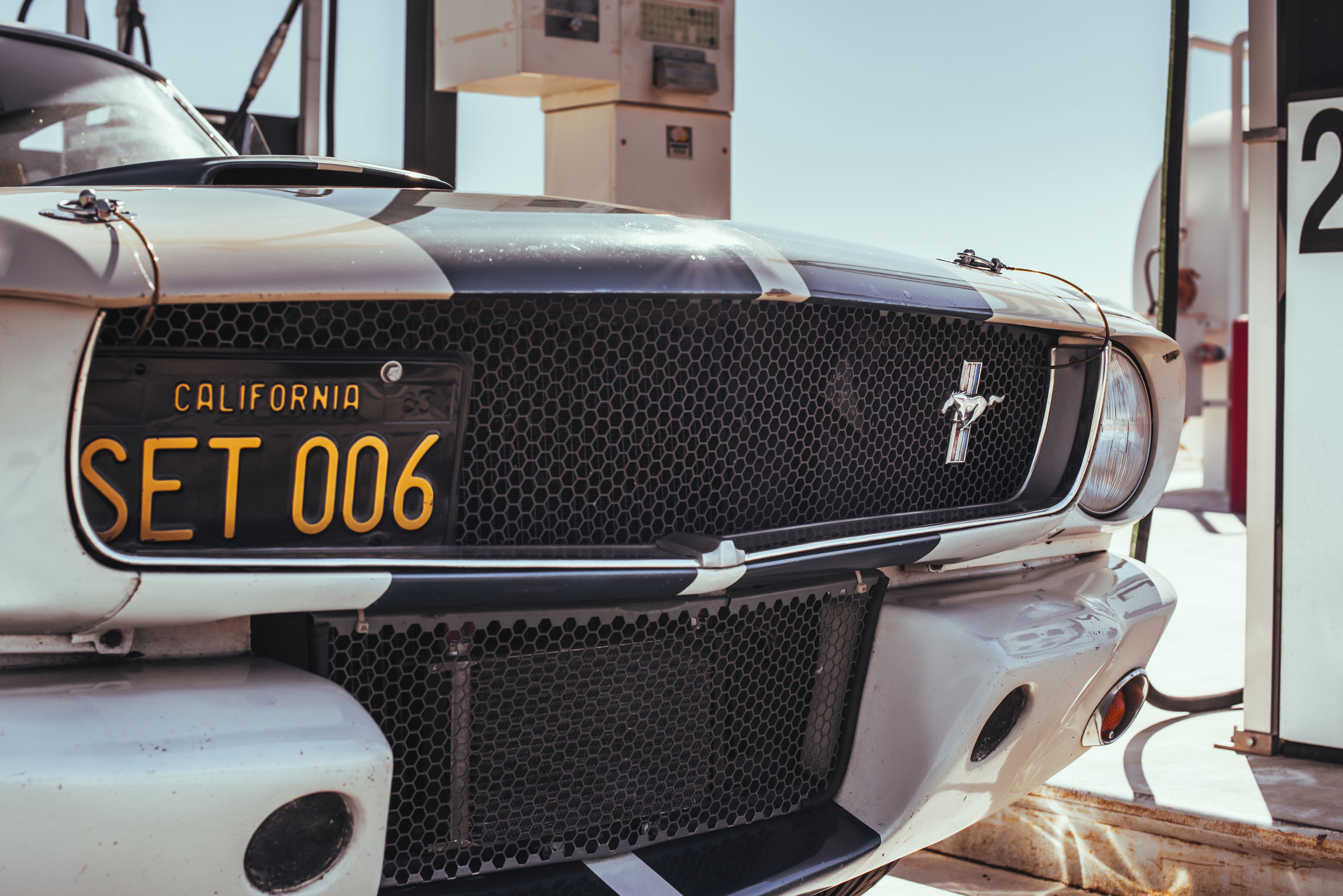 1965 Shelby GT350 Mustang grille detail