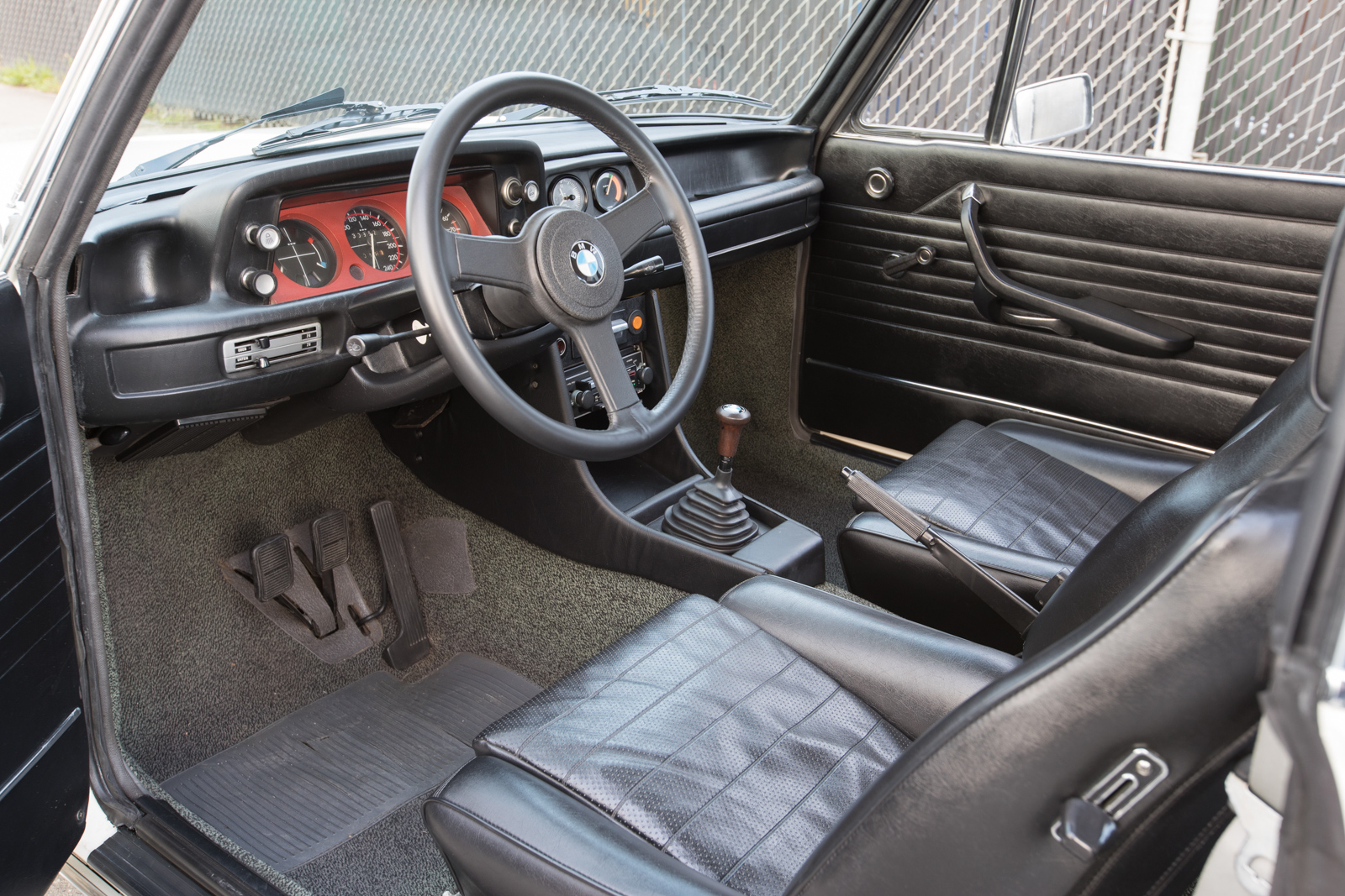 1974 BMW 2002 Turbo interior
