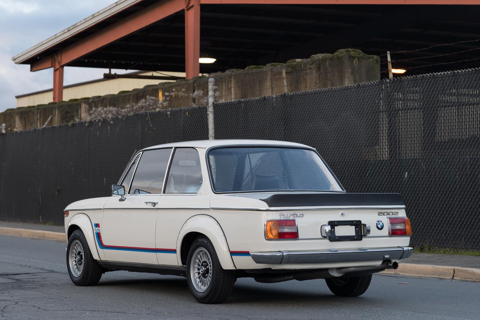 1974 BMW 2002 Turbo LH rear corner