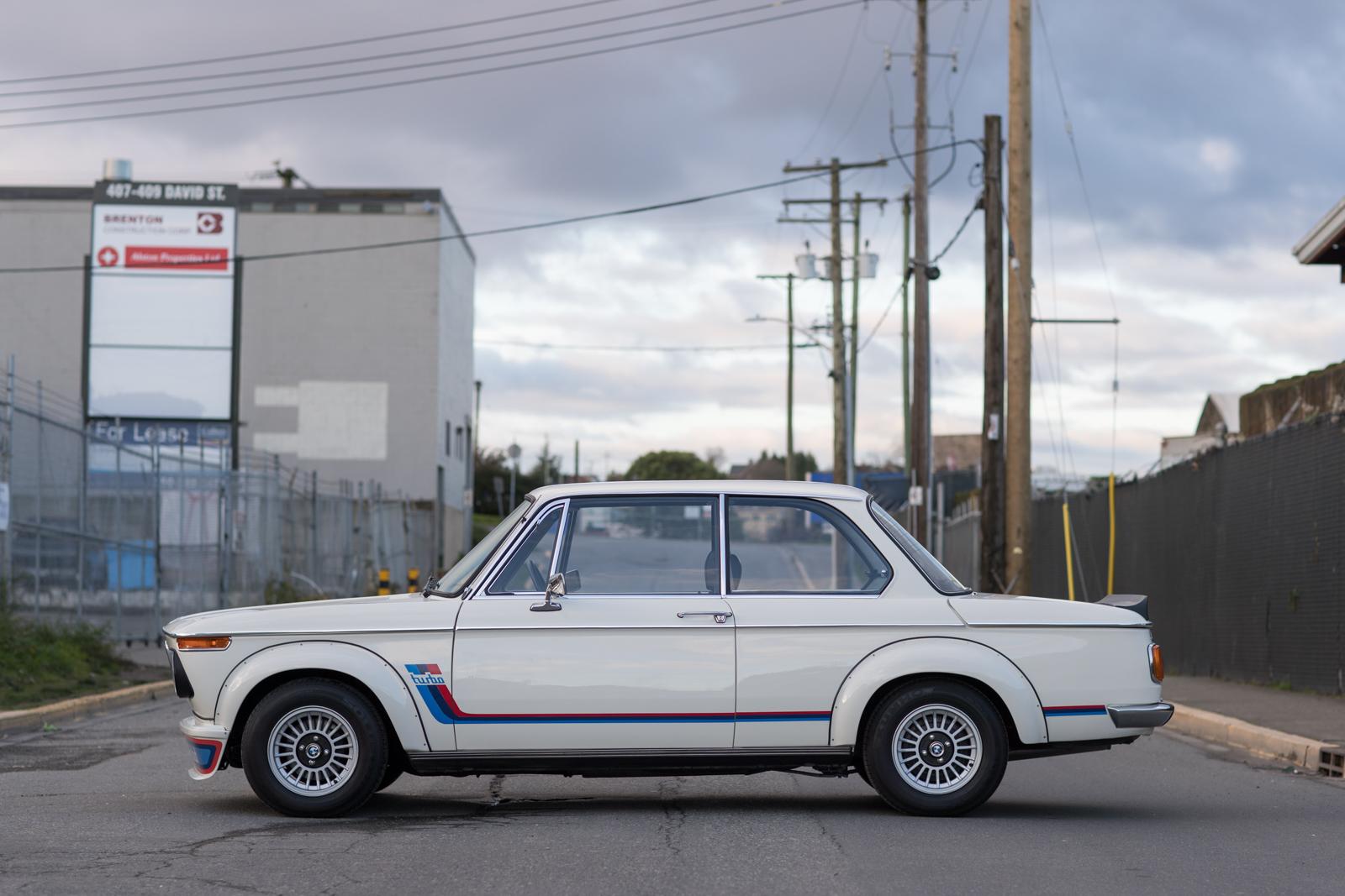 1974 BMW 2002 Turbo LH side