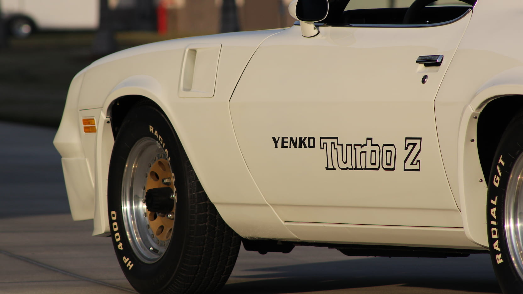 1981 Chevrolet Yenko Turbo Z side detail