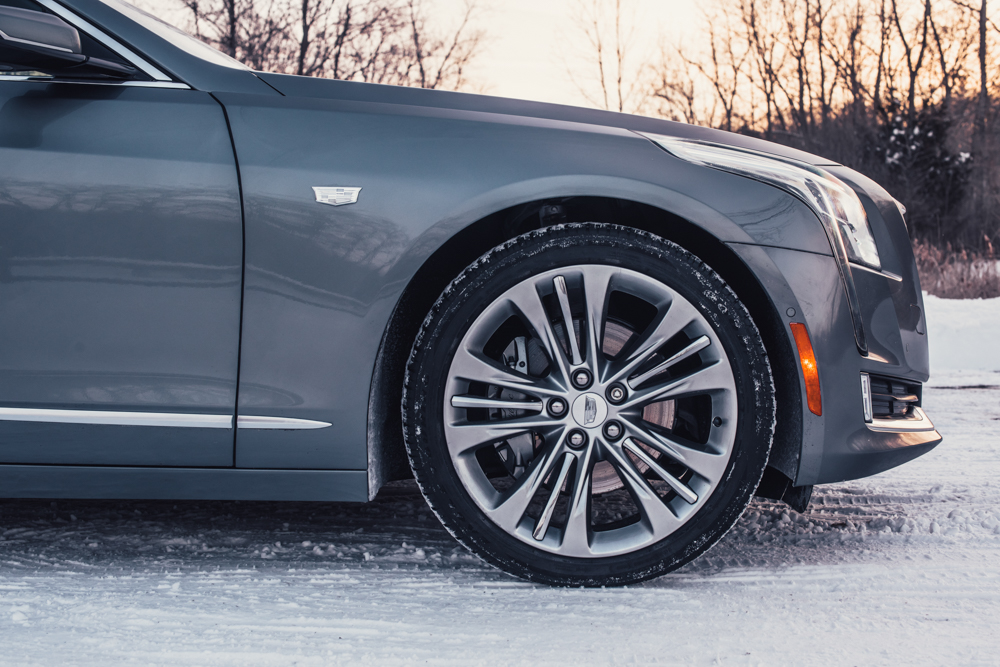 2018 Cadillac CT6 Platinum front quarter panel